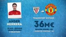 Officiel : Ander Herrera signe à Manchester United !