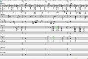 Uncained Melody  - Base Musicale Spartito per Sax & Flute rigo 4