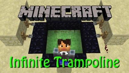 Minecraft: Infinite Trampoline Tutorial, Fun with Slimeblocks in 1.8