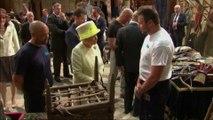 La reine Elizabeth II dans les studios de Game Of Thrones