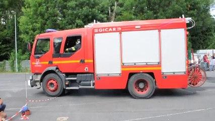 Maubeuge : Une simulation d'incendie lors de la journée portes ouvertes chez les pompiers