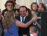 François Hollande danse à l'Elysée - ZAPPING ACTU DU 24/06/2014