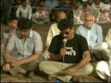 Delegation of Sachal Times Vist MQM Sit-in Numaish to Solidarity with Mr.Altaf Hussain