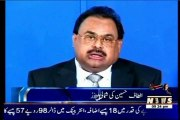 MQM Quaid Altaf Hussain condemns baton charges against journalists