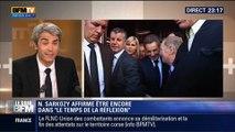 """Le Soir BFM: Retour de Nicolas Sarkozy: """"Il n'est pas dans le temps de la réflexion, il est dans le temps de la préparation"""", Damien Fleurot - 25/06 4/5"""