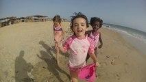 Kitesurf à La Somone mai 2014 - les papas et les enfants