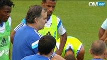 Première opposition 2014-15 à l'OM, premiers buts