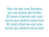 Christophe Maé - Ma vie est une larme (Lyrics / Paroles)