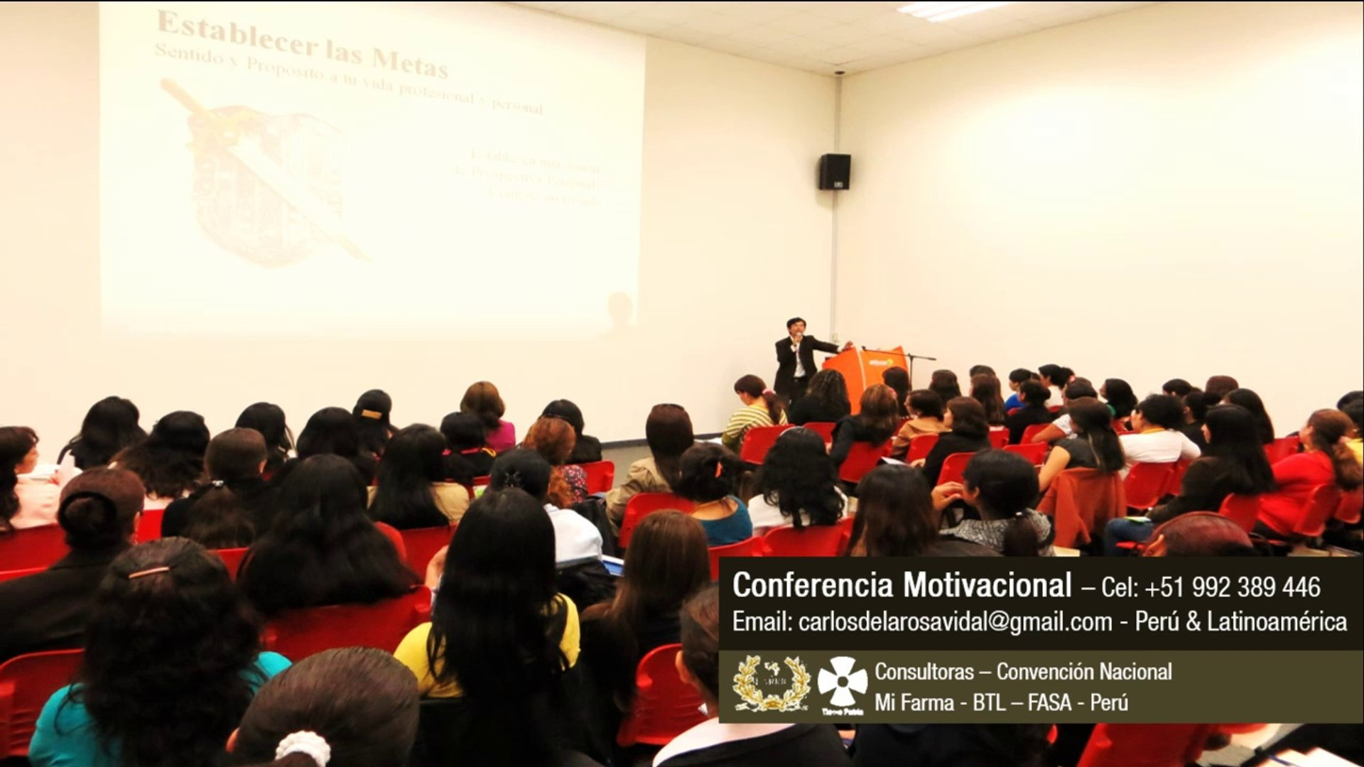 Charlas Motivacionales En Lima Conferencista Internacional