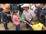 Construcción de Red de Agua Potable, en Molino de San José, San Felipe Gto.