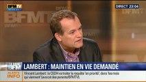 Le Soir BFM: La CEDH demande le maintien en vie de Vincent Lambert - 24/06 2/5