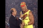 WCW World War 3 1995 Hulk Hogan Interview
