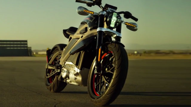 Harley-Davidson Project LiveWire — The First Electric Harley-Davidson Motorcycle Revealed