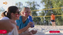 SUJET - Une nuit de beach volley pour la bonne cause