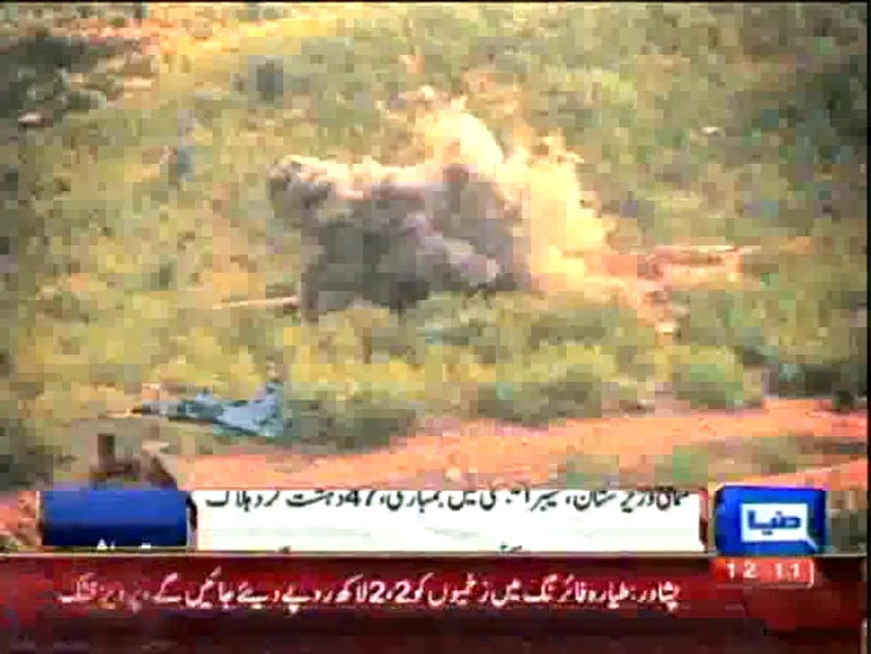 Fresh air strikes kill 47 terrorists in North Waziristan, Khyber Agency