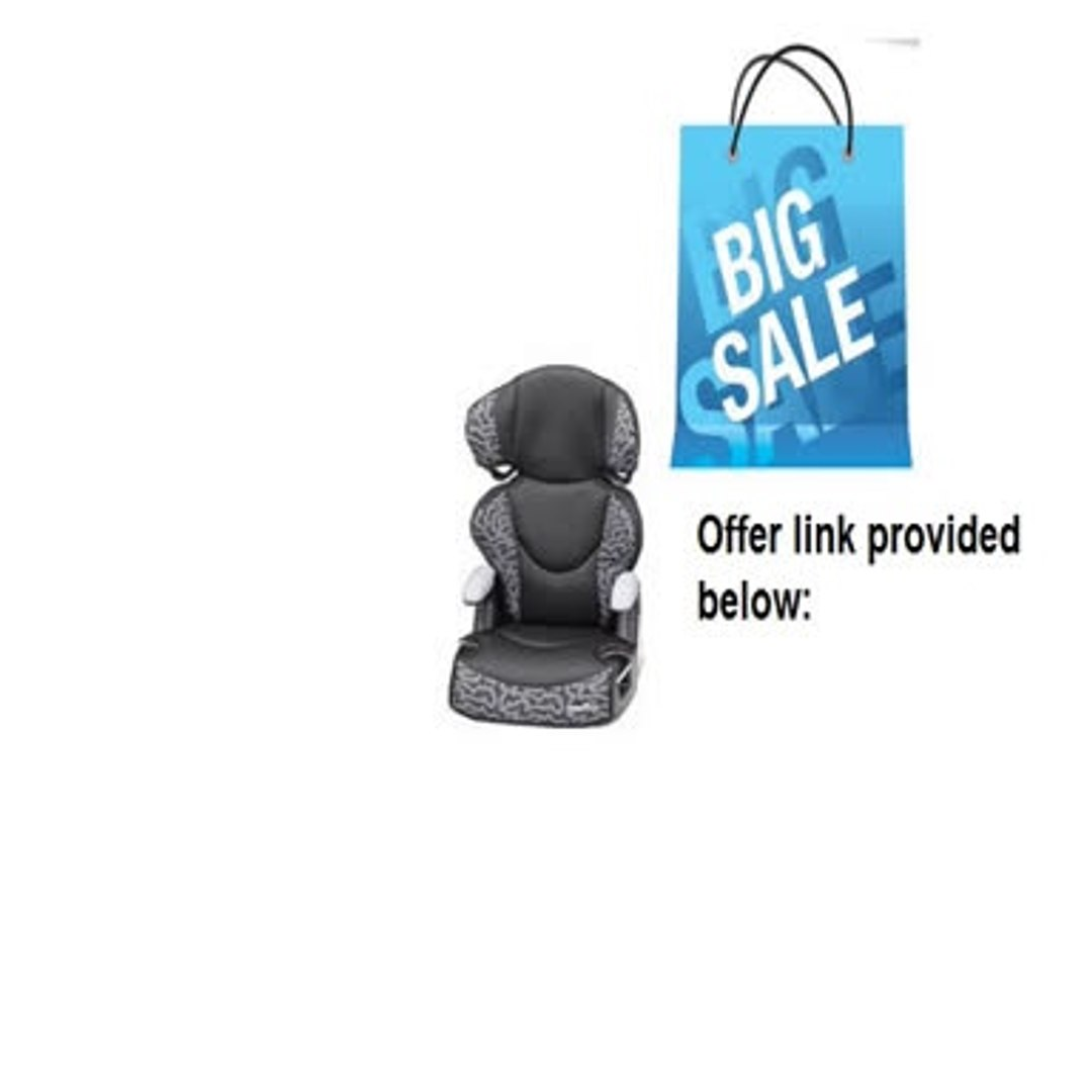 Clearance Evenflo Big Kid Sport Booster Car Seat, Tonal Maze Review