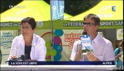 """Partie 2 - """"La voix est Libre"""" en direct d'EuroNordicWalk Vercors sur France 3 Alpes"""