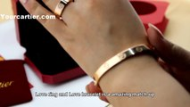 Knockoff Cartier Love Bracelet Pink Gold B6035616 Cheap Price $90 New Version Quality Replica