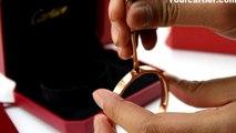 Discount Cartier Love Bracelet Pink Gold 4 Diamonds B6036016 New Version Top Quality Replica