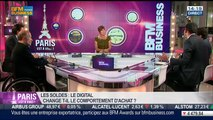 La tendance du moment: l'impact du digital sur les soldes, dans Paris est à vous – 25/06
