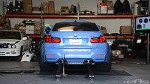 2015 BMW M3  on DYNO