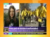 Prima pistă de biciclete transfrontalieră dintre România și Ungaria, lungă de 35 de kilometri, inaugurată