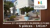 A vendre - Maison/villa - ST GEORGES D OLERON (17190) - 5 pièces - 141m²