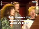 LES ENFOIRES - LA CHANSON DES RESTOS DU COEUR (Lyrics / Paroles)