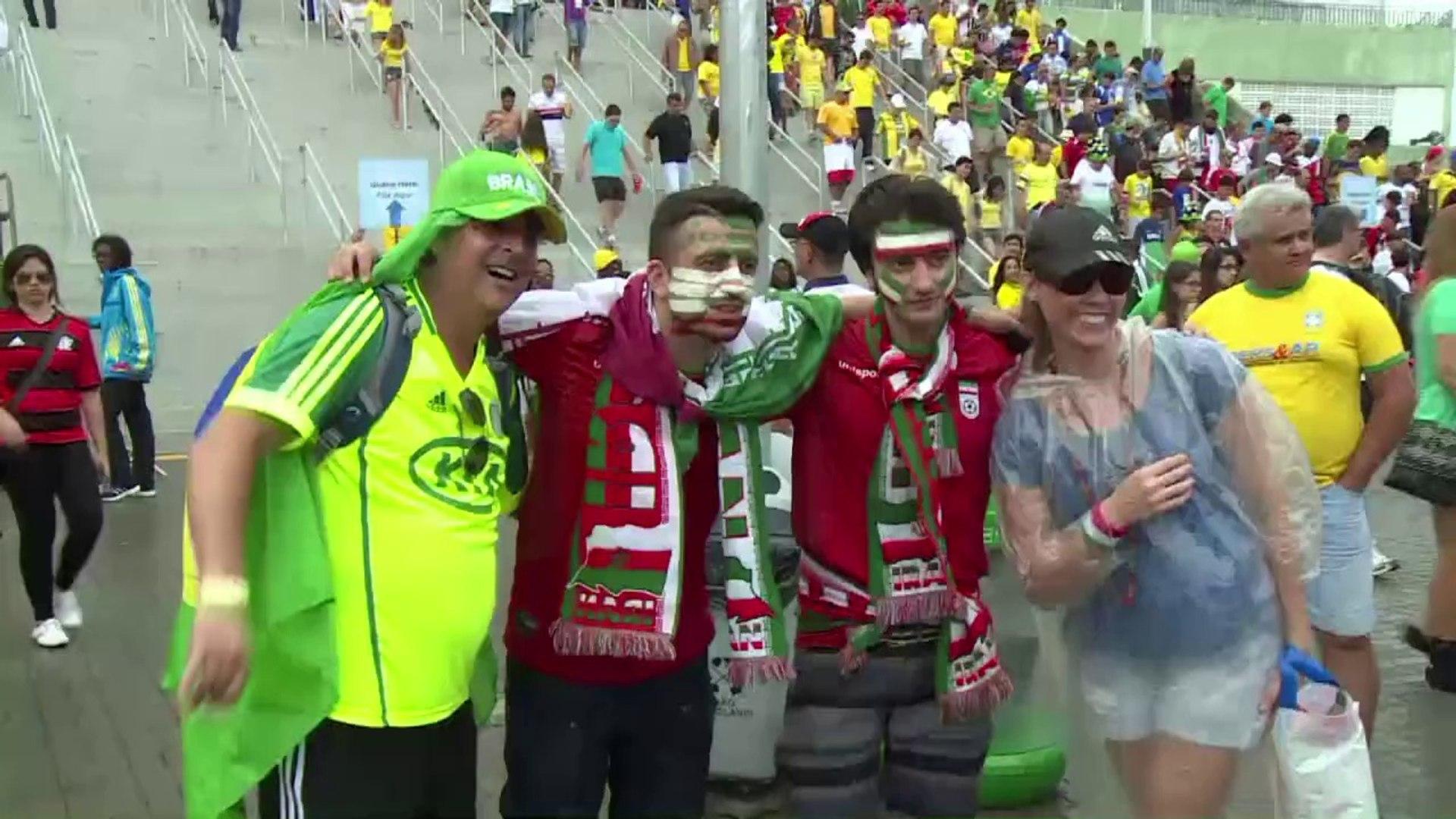 Bosnia-Hercegovina fans celebrate win