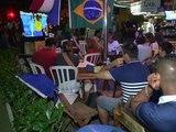 La fête des supporters français au Brésil après le match contre l'Equateur - 26/06