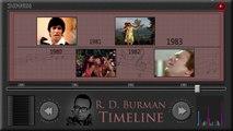R.D Burman Timeline~Jukebox~Evergreen Hindi Songs~R D Burman Super Hits (1960-2000)
