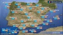 Previsión del tiempo para este jueves 26 de junio