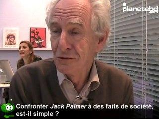 René Pétillon en interview sur PlaneteBD.com