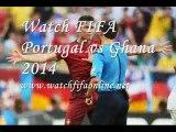 Watch Portugal vs Ghana Football Live