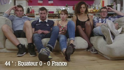 Devant le match : #3 France/Equateur - Shaaker