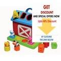 Discount Infantino Barn Shape Sorter Review
