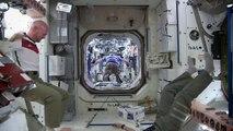 Football dans la Station spatiale internationale