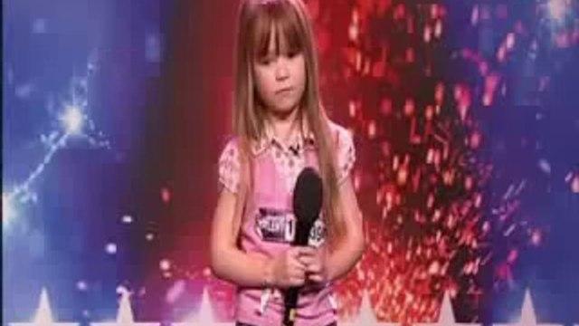 Britains Got Talent or Americas Got Talent ♥ Connie Talbot WOWs Simon Cowell !
