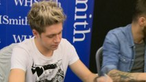 One Direction's Niall begs fans not to throw things on stage