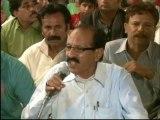 Delegation of Babar Markit Association Vist MQM Sit-in Numaish to Solidarity with Mr.Altaf Hussain