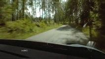 Mikko Hirvonen - Citroen DS3 WRC Onboard SS10 @ Neste Oil Rally Finland 2013