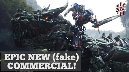 Epic (Fake) Transformers Commercial   DweebCast   OraTV