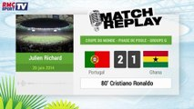 Portugal - Ghana : Le Match Replay avec le son RMC Sport !