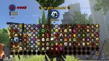 LEGO Marvel Superheroes  RED SKULL Gameplay