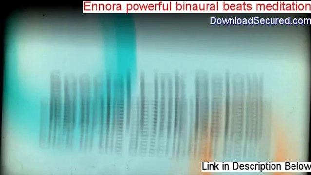 Ennora powerful binaural beats meditation Download [Download Now]
