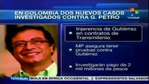 Colombia: Procuraduría insiste en investigaciones contra Gustavo Petro