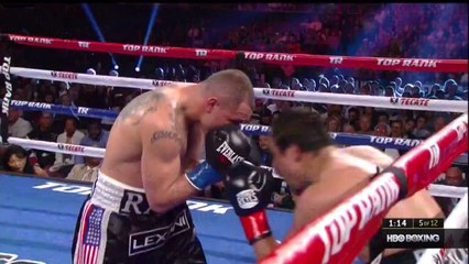 Juan Marquez vs. Mike Alvarado Full Fight HBO