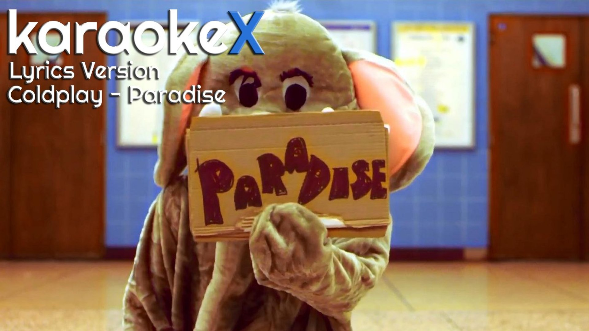 Coldplay Paradise Lyrics Version Karaokex