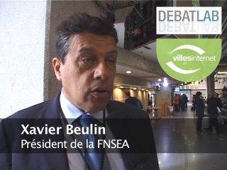 """Xavier Beulin (FNSEA) sur la réforme territoriale : """"évitons de créer deux France"""""""