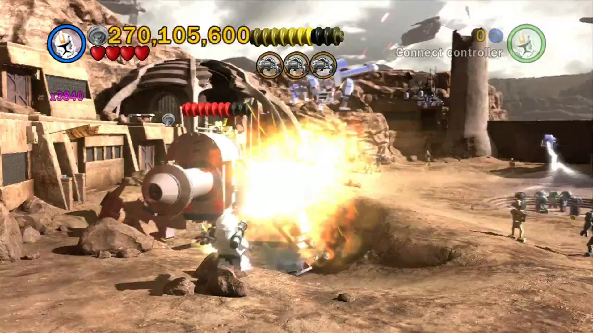 LEGO Star Wars III  The Clone Wars - 100% Guide #18 - Innocents of Ryloth (All Minikits)